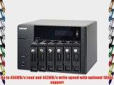QNAP TS-670-US 6-Bay iSCSI NAS SATA 6G 4LAN 10GbE-ready LCD (TS-670-US)