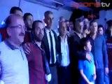 Trabzonspor'dan coşkulu kutlama! Başkandan meşale şovu