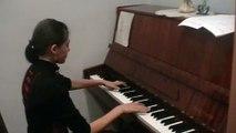 Rammstein by Alena Ramkovskaya Wo bist du Piano cover (3 february 2010)