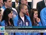 """""""En 2003 Kirchner concibió al deporte como política de estado""""."""