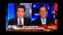 Rick Santorum Anti-Gay Argument Called Out