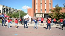 Arizona Assurance Flashmob  University of Arizona Homecoming Fall 2011