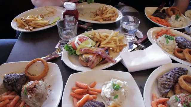Three Entree Challenge at MR MIKES Steakhouse & Bar