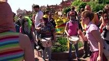 Ukraine: marche pour les droits des homosexuels à Kiev