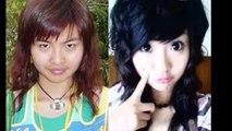 【衝撃】女の子の化粧前と化粧後の画像が違いすぎる件【比較画像】Image of makeup before and after makeup girl is too different