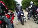 Petite balade en moto : Ardennes-Belgique