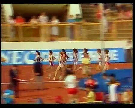 1987 European cup Women's 1500m final