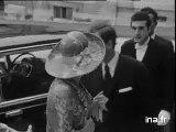 Iranian Empress - Farah Pahlavi - visit to France