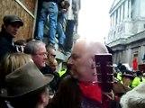 anarchists send police running april 01, 2009, London UK