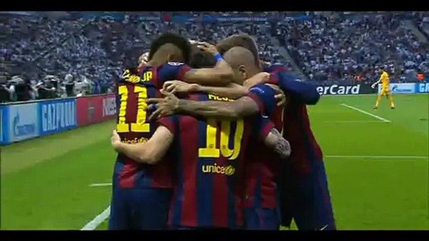 Goal Rakitic - Juventus 0-1 Barcelona - 06-06-2015 Final Champions League