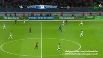 Messi, Neymar, Suárez Amazing Attack and Big chance - Juventus vs Barcelona - Champions League Final 06.06.2015