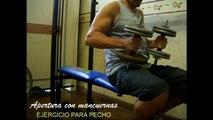 Excelentes ejercicios con mancuernas para pecho triceps y hombros