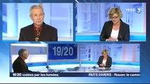 Edition spéciale incendie sur le pont Mathilde par  la rédaction de  France 3 Haute-Normandie