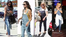 Alexa Chung and Rihanna in the Overall Trend | Summer Trends | Fashion Flash