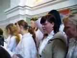 Stirniene Sv. Laurencija Romas katoļu baznīcas koris 10. aug.2008.