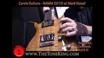 Carvin Guitars walk-through w/ Family Owner - Mark Kiesel - NAMM 2010 10