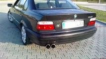 BMW e36 1.8i Exhaust Sound