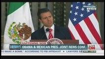 President Obama & President Peña Nieto Press Conference Mexico City Mexico (May 2, 2013)