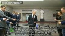 Crimée : Vladimir Poutine raille l'absurdité des sanctions américaines contre la Russie (VOSTFR)