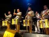Peter Fox feat. cold steel drumline Live (Wien) - Drums