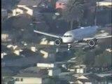 A320 Jet Blue emergency landing at KLAX