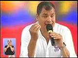 Enlace 384 02/08/2014 Rafael Correa utilidades de telefónicas y críticas a publicaciones El Universo