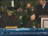 Noticieros Televisa Veracruz - Encienden árbol navideño en capitolio