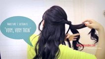 ★HAIR TUTORIAL: BRAID HAIRSTYLES FOR MEDIUM LONG HAIR | BRAIDED SCRUNCHED-UP, CURLY UPDOS