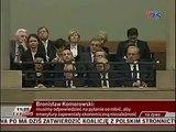 Wpadka Komorowskiego podczas inauguracji 7 kadencji Sejmu