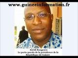 Kiridi Bangoura:«Alpha Condé avait joué le médiateur en Afrique de l'ouest; au Burkina Faso»
