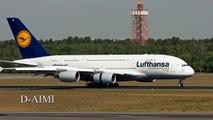 airbus a380 [D-AIMI] lufthansa berlin tegel airport TXL