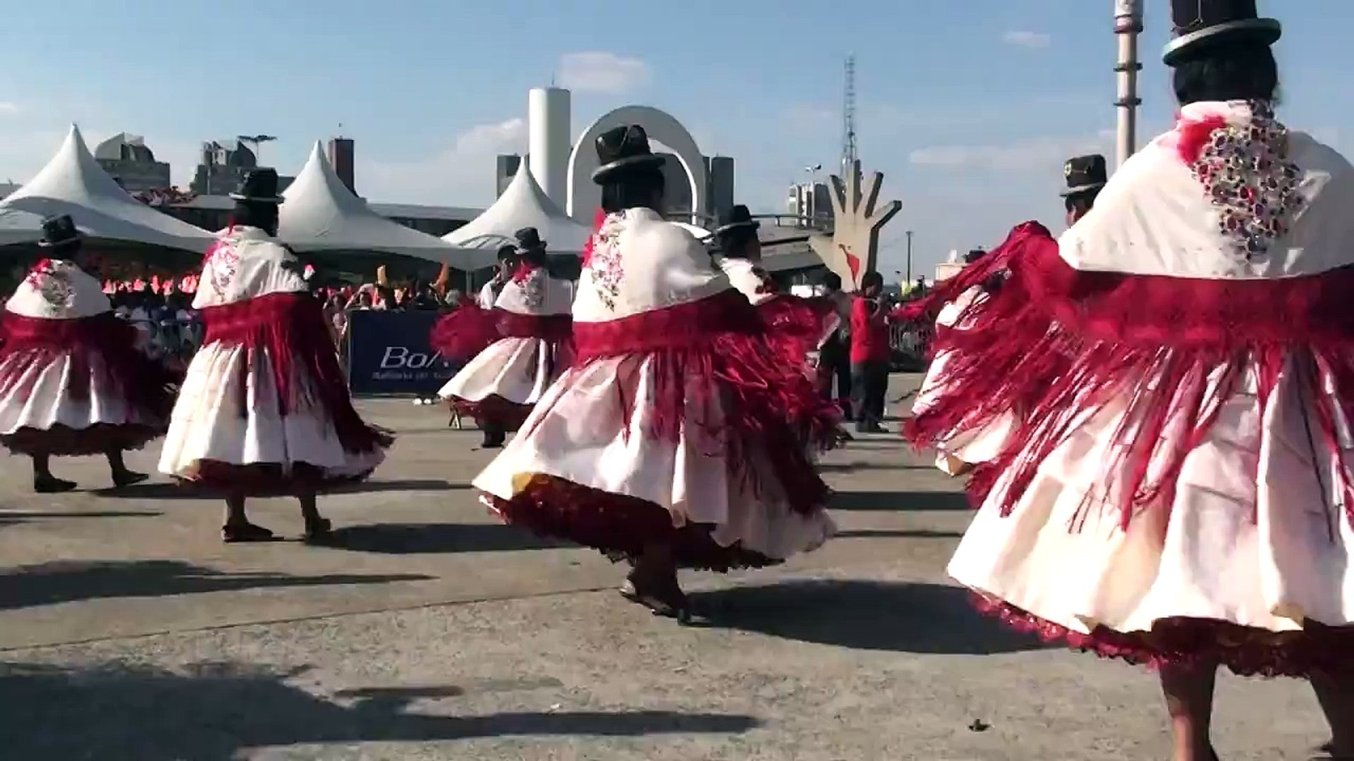 Festa Bolívia 2012 - Memorial da América Latina