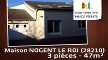 A louer - Maison/villa - NOGENT LE ROI (28210) - 3 pièces - 47m²