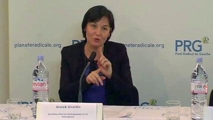 Rencontres pour une République moderne avec la ministre Annick Girardin