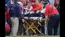Fan Hit On The Head By Brett Lawrie's Broken Bat At Fenway Park - Woman Hit By Brett Lawrie's