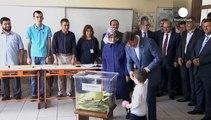 بدء التصويت للانتخابات التشريعية في تركيا