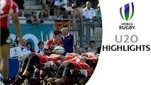 HIGHLIGHTS France 47-7 Japan at World Rugby U20s