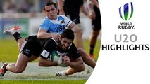 HIGHLIGHTS New Zealand 32-29 Argentina at World Rugby U20s