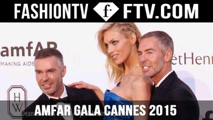 amfAR Gala at Cannes Film Festival 2015 pt. 1 ft. Karlie Kloss | FashionTV