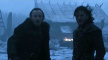 Game of Thrones s05e08 Nigths King White Walker and Jon Snow