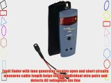 Fluke Networks 26500610 TS100 Metric Cable Fault Finder with BNC to Alligator Clips