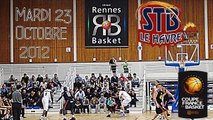 URBTV : [Coupe de France] Union Rennes Basket vs STB Le Havre (Pro A)