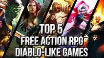 Top 5 Free Action RPG Diablo like Games 2013