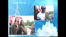 Taïg Khris SAUTE de la TOUR EIFFEL en ROLLER !! IMPRESSIONNANT !! :O
