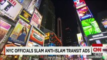 Anti-Islam ads hit New York streets