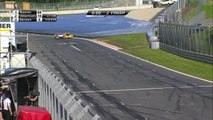 Crash spectaculaire en GT4 au Red Bull Ring
