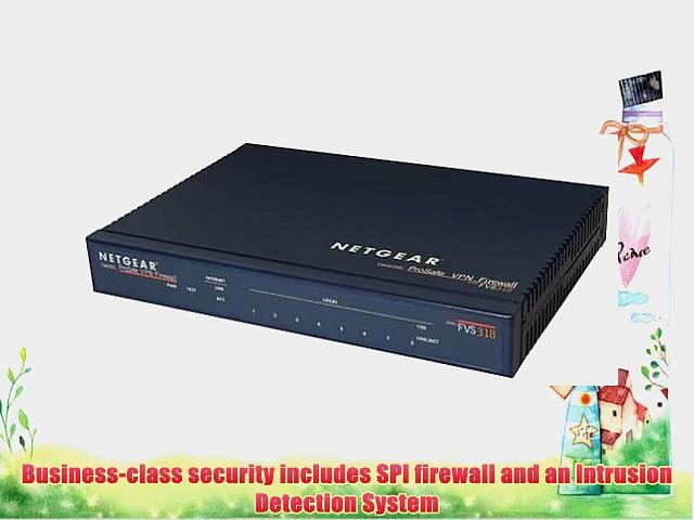 NETGEAR FVS318 ProSafe VPN Firewall 8 with 8-Port 10/100 Switch