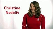 Canadian   Christine Nesbitt  2010 Winter Olympic   7th medal Gold  Ladies' Long Track Speed Skating 1000m