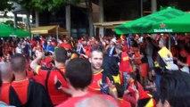 Ambiance au stade de France avant France-Belgique en amical