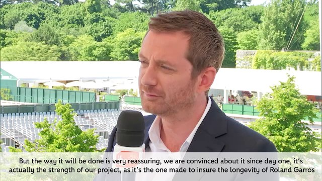 Mr Gilbert YSERN's ITW : New French Open
